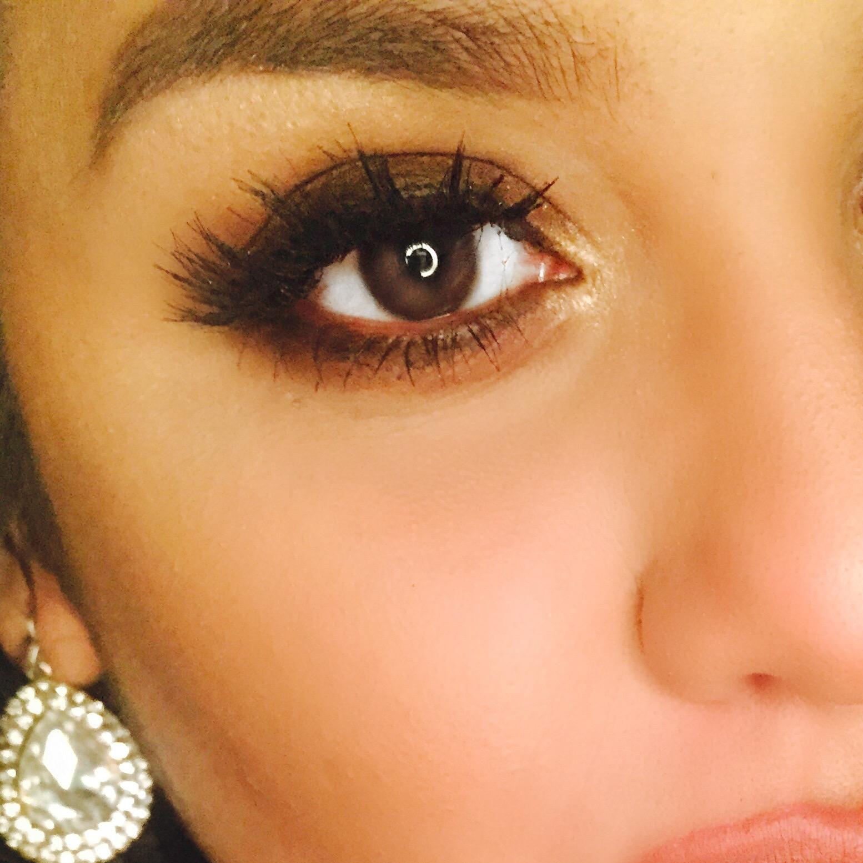 smokey eye, risque lashes, koko lashes